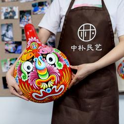 【中朴】马勺脸谱 社火脸谱 京剧脸谱陕西民俗特色装饰中国风礼品