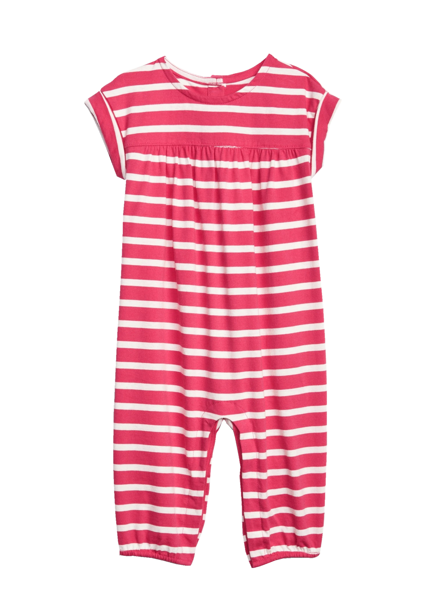 Outer single summer thin stripe one-piece short climbing sleeveless long leg climbing clothes baby one-piece clothes baby clothes 6-12m18m