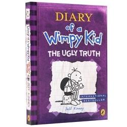 小屁孩日记 Diary of a Wimpy Kid The Ugly Truth5 丑陋的真相 英文原版绘本 6-12岁中小学儿童桥梁漫画 少儿课外读物 原版进口书