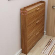 靴ダンプ家庭用ドア17センチメートル薄い狭い玄関キャビネット収納省スペース多機能マルチレイヤシューラックリビングルーム