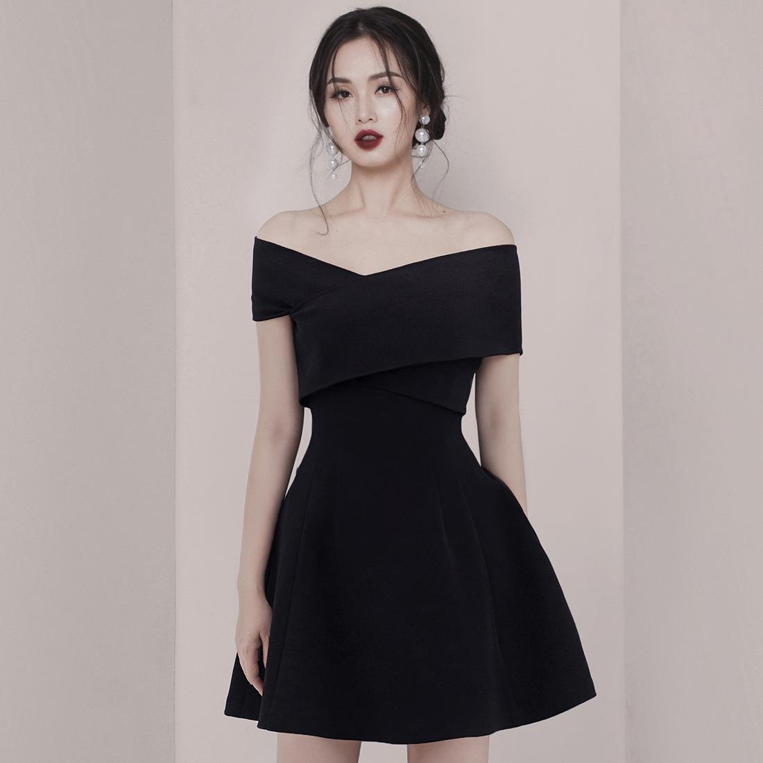 泰国潮牌名媛高端气质复古小连衣裙12-02新券