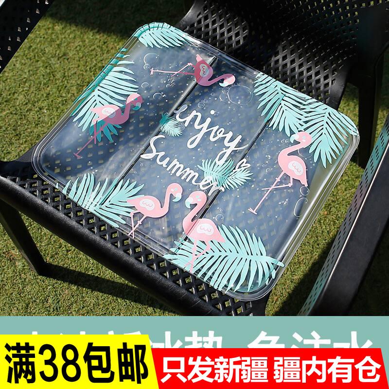 新疆包邮哥夏季冰凉降温凝胶沙发冰垫免注水汽车水垫夏天消暑神器