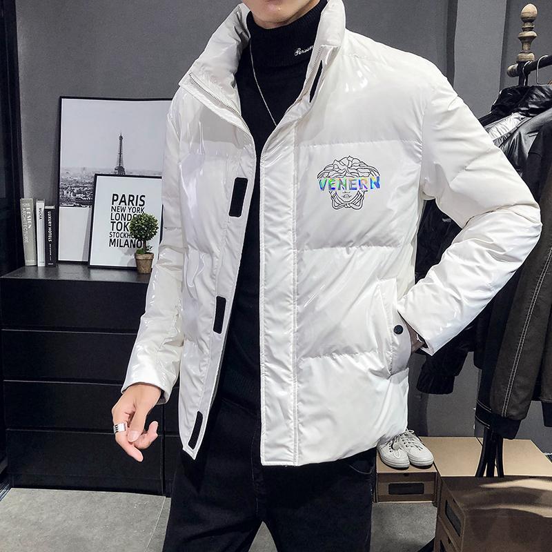 2020冬季炫彩亮皮韩版时尚外套短款男士羽绒服XZ9953-P175