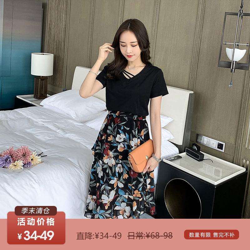 中國代購 中國批發-ibuy99 ������������ 清仓34-49元 直降34-49 数量有限 售完不补 五季家大码胖妹妹套装