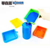 Watson Weiwei kindergarten painting pigment box art Creation accessories Professional ink collection box easy to use