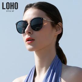 LOHO新款太阳镜女防紫外线近视墨镜圆脸时尚眼镜女韩版潮偏光镜图片