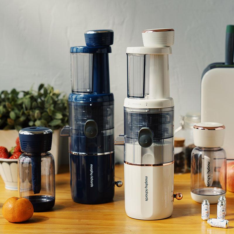 日食记摩飞气泡原汁机家用全自动小型榨汁机蔬果原汁机渣汁分离淘宝优惠券