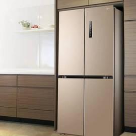 美的468變頻電冰箱4四開門家用四門節能風冷無霜雙開門十字對開門圖片