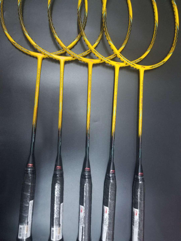 正品李宁羽毛球拍99TD AYPL134 谌龙限量版全碳素进攻型单拍N99