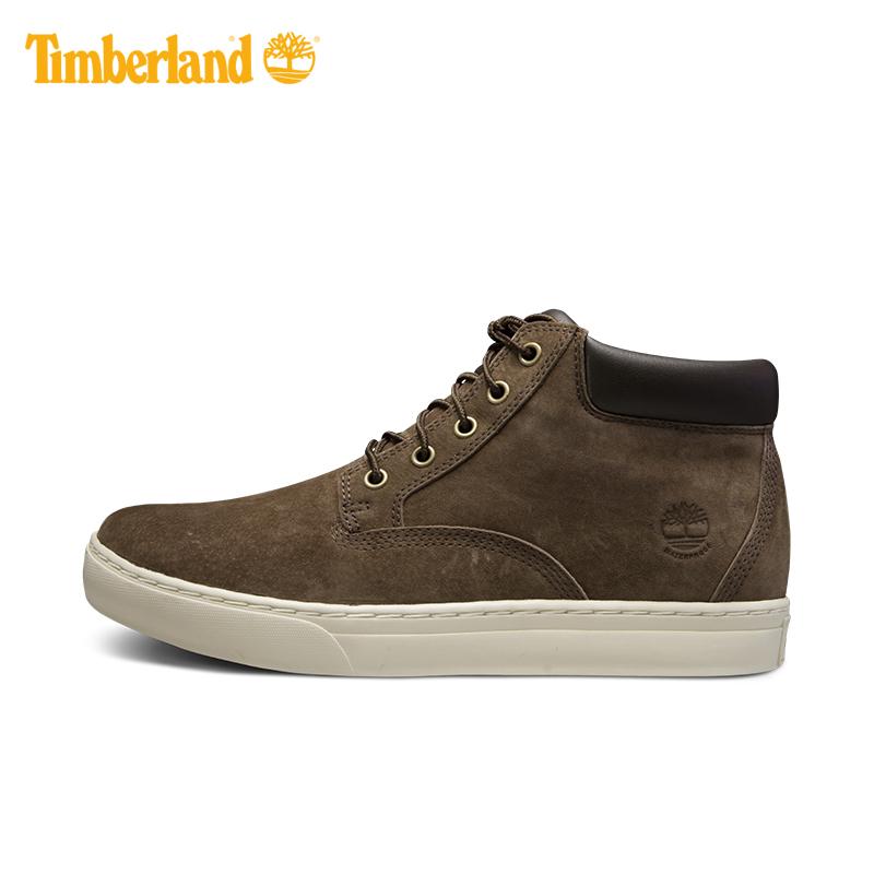 【经典款】Timberland/添柏岚男鞋17秋冬新款皮革中帮板鞋|A1GWR