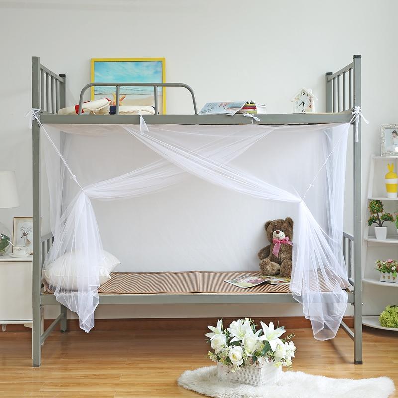 学生蚊帐宿舍1m1.2米单人床上下床上铺下铺单门1.5/1.8m米床双人