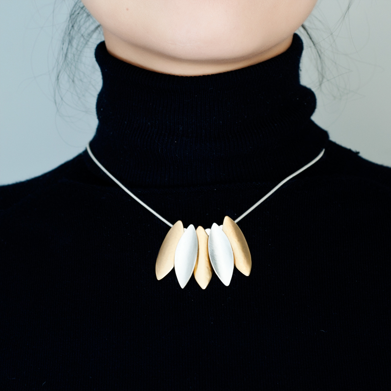 Marjorie Baer European and American workplace chic style intellectual simple ol Style Necklace