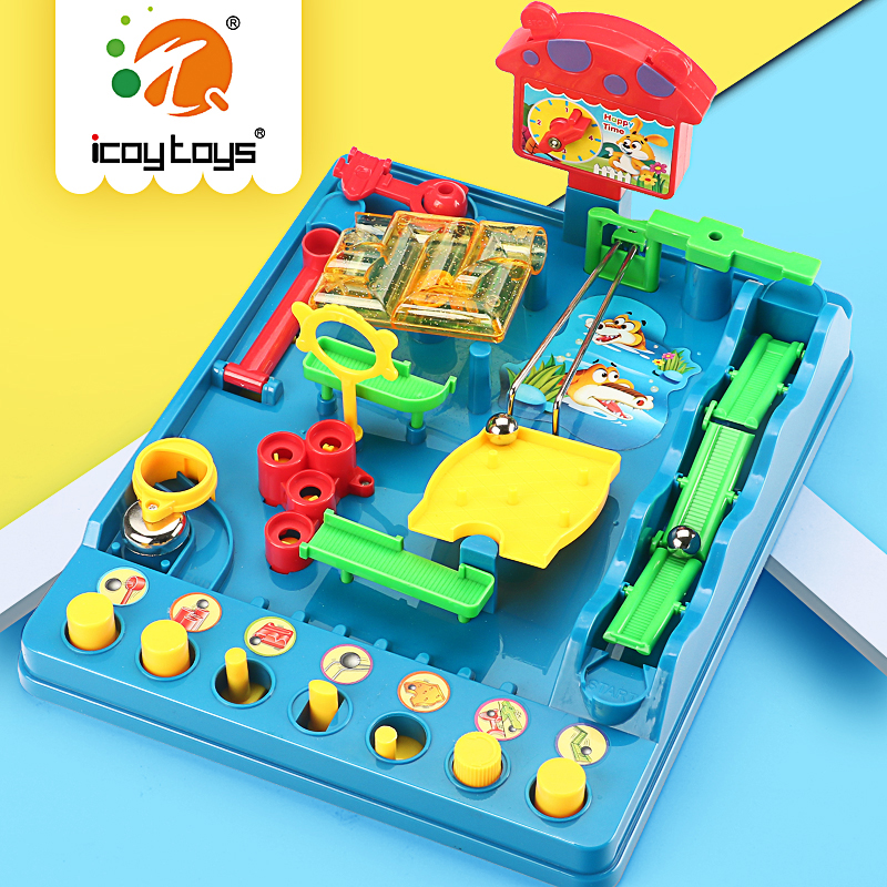 Adventure of Xiaobei in water park three dimensional maze desktop casual game party puzzle pass toy boy