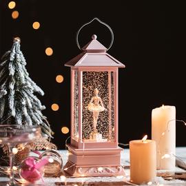 雪花音乐盒抖音周幼琳同款水晶球夜灯许愿风灯摆件女浪漫生日礼物图片