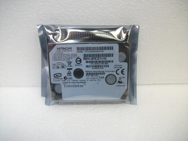 全新1.8寸40G笔记本硬盘IDE并口IBM X40/41可用 另有60G