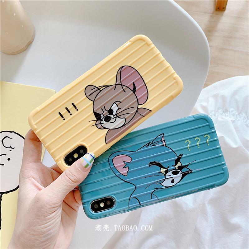 猫和老鼠小米9手机壳cc9e软硅胶8青春6x屏幕指纹版创意情侣可爱女12-01新券