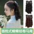 Roman volume wig ponytail bowknot wig princess volume film and television cheongsam Republic of China fritter volume simulation hair fake ponytail