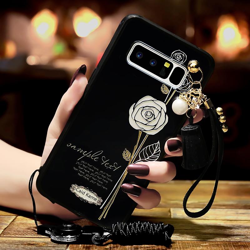 三星NOTE8手机壳SM-N9500硅胶not8 noto软N950f保护套N8全包n9508