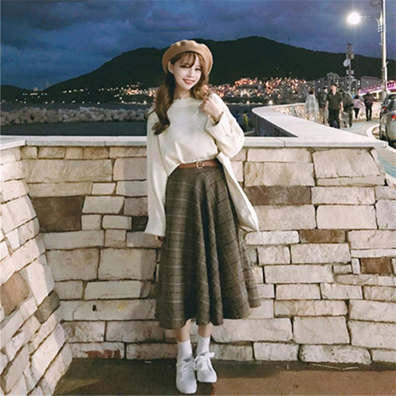 满49.00元可用1元优惠券初秋两件套装秋季韩版学生小清新bf