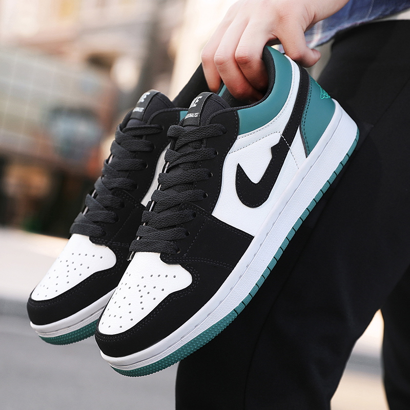 Ainike Putian air force No.1 AJ mens shoes breathable low top low mint green AF1 couple sports shoes in summer