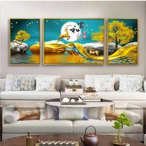 莫奈梵高油畫客廳餐廳臥室簡約現代掛畫撿漏斷碼特價北歐裝飾畫a