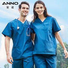 Anno bác sĩ hoạt động y tá phòng, rửa đồng phục quần áo bàn chải quần áo tay tùy chỉnh dài tay nha sĩ áo choàng