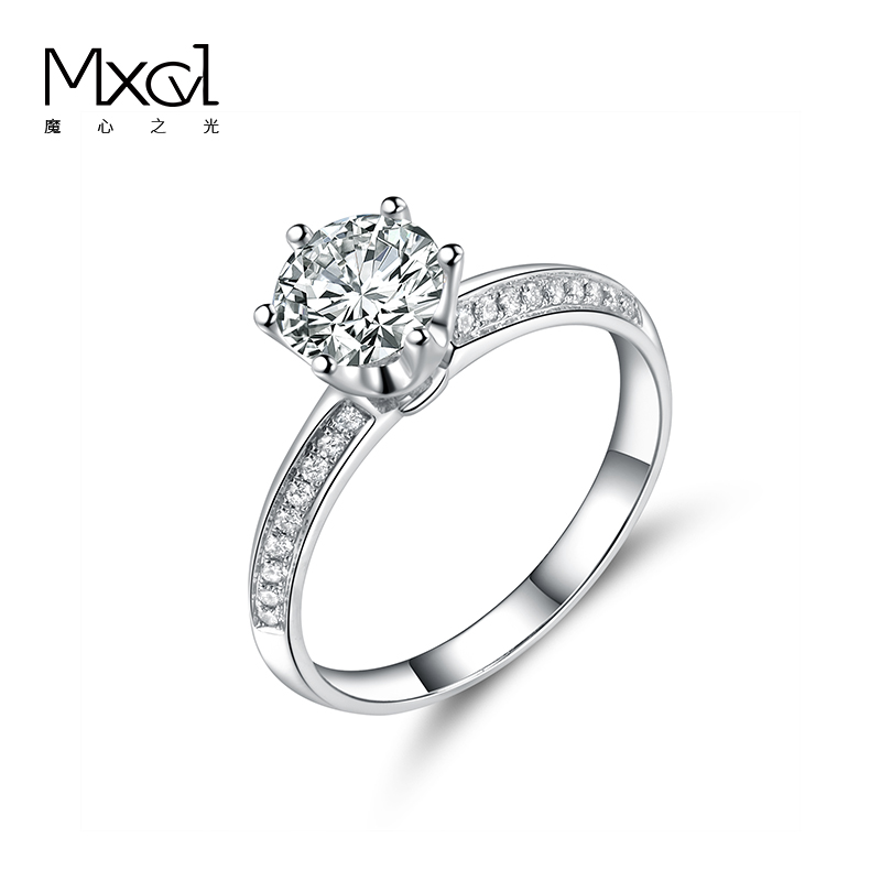 18K platinum pt950 laboratory cultivates diamond rings for women to get married
