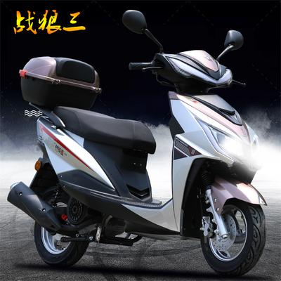 2020年新款国四电喷摩托车125cc踏板燃油男女通用整车款式 可上牌