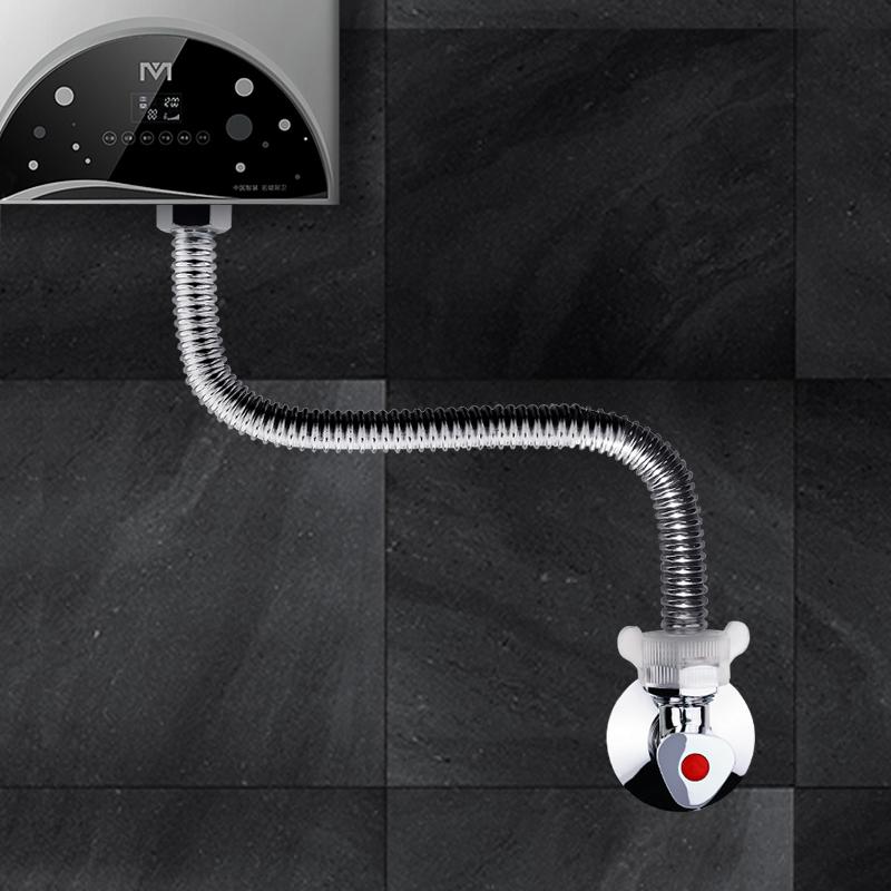 潜水艇304不锈钢波纹管4分热水器出水管软管冷热进水管防爆耐高温