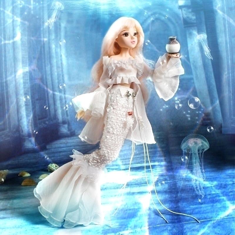 券后159.36元古装娃娃芭比清朝中国古风叶人偶