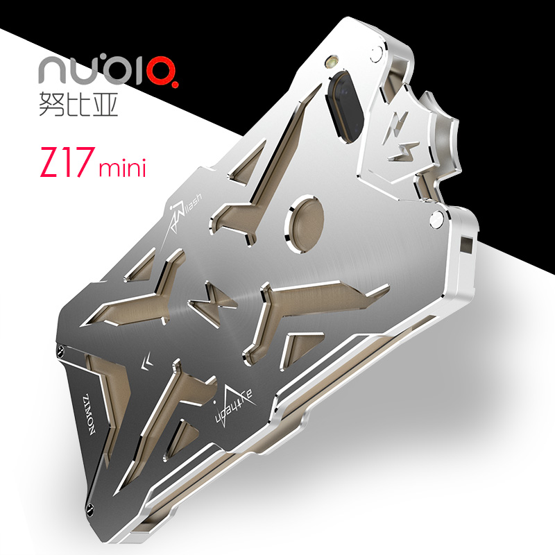 SIMON THOR Aviation Aluminum Alloy Shockproof Armor Metal Case Cover for ZTE nubia Z17 & nubia Z17 mini
