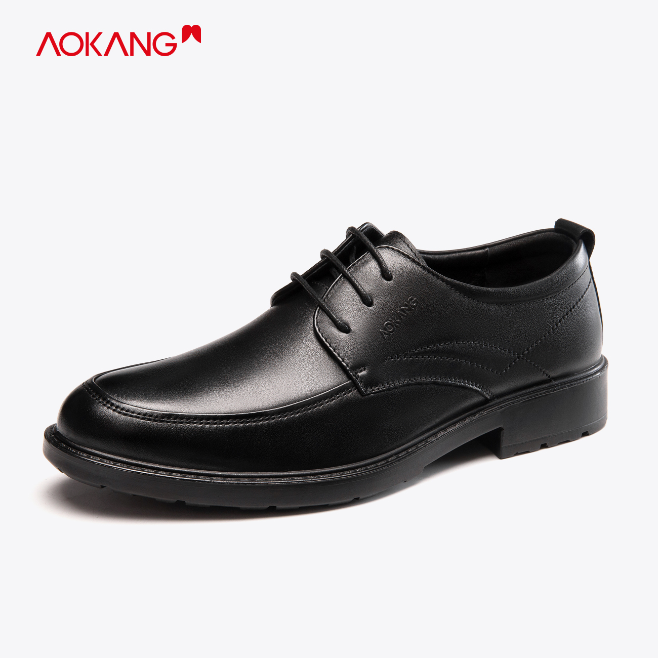 Oakon official flagship store leather shoes men commuter business suit leather shoes 100 sets of British style work men's shoes