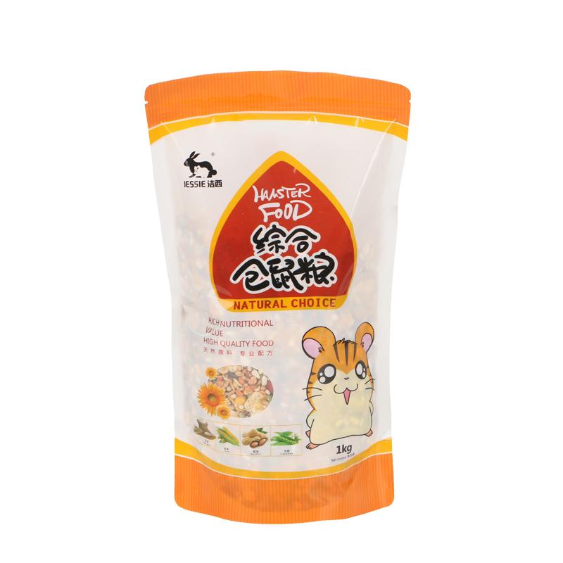 [君达宠物用品专营店饲料,零食]洁西(JESSIE)综合仓鼠粮 金丝yabo228840件仅售18元