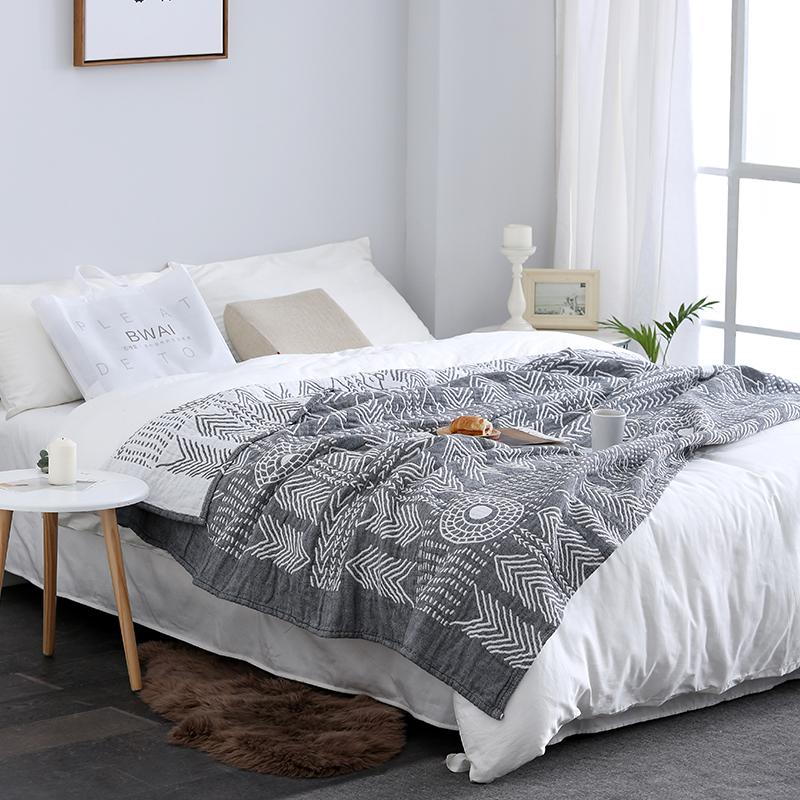 券后89.00元百唯爱毛巾被纯棉毯子单双人薄盖毯午睡被子纱布毛巾毯空调夏床单