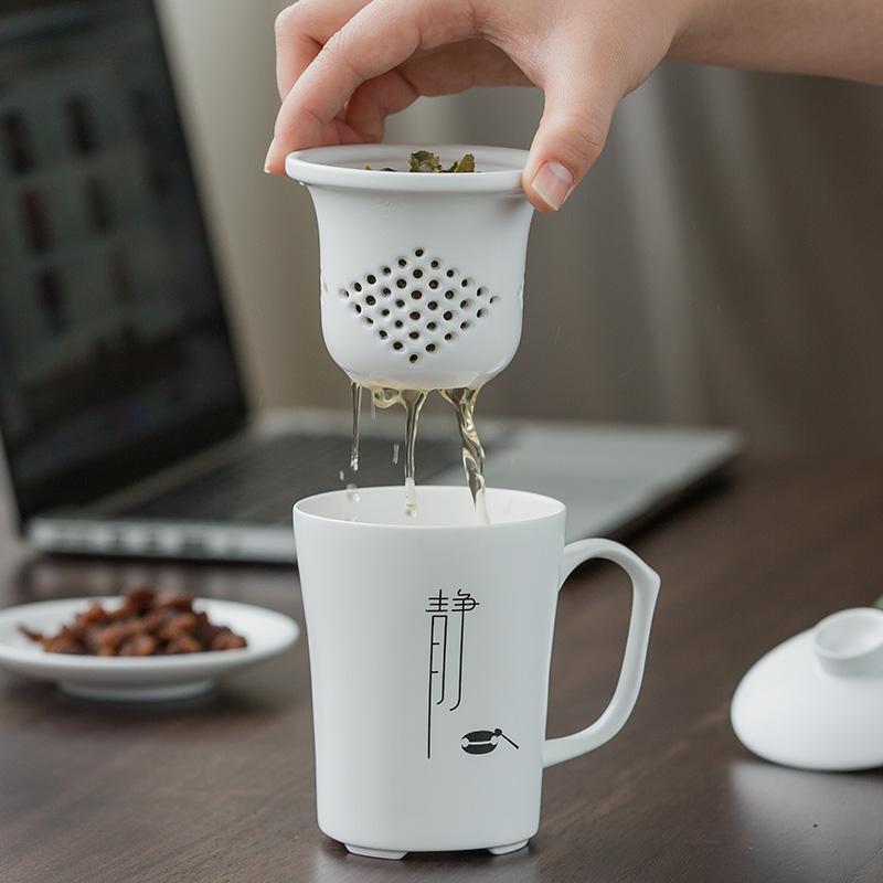 假一赔三君器创意文字办公室家用陶瓷马克杯