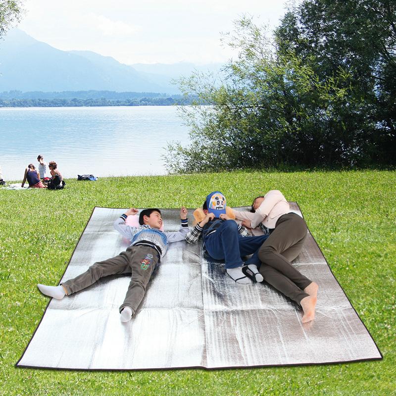 Влага на открытом воздухе геометрическом волна пикник подушка газон коврик один двойной мультиплеер весна тур на открытом воздухе подушка алюминий подушка