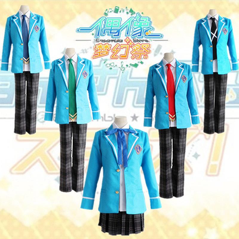 Japanese school uniform ice hawk Beidou cosplay costume