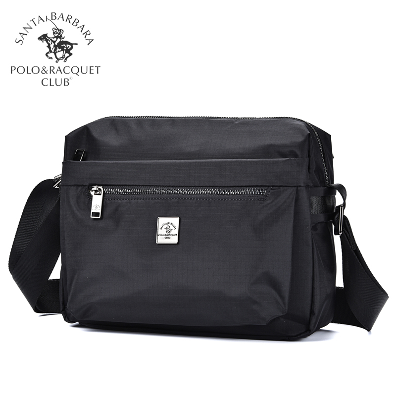 St. Paul's men's bag horizontal casual One Shoulder Messenger Bag Canvas sports large capacity Oxford light shoulder Backpack