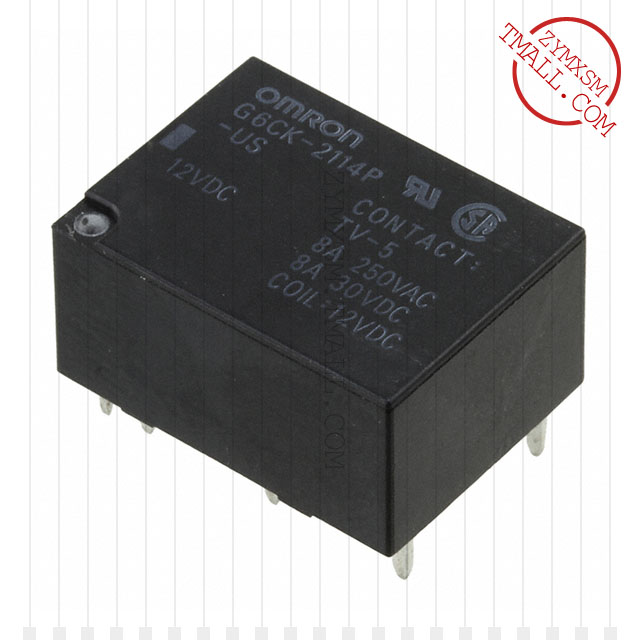 G6CK-2114P-US-DC12〖RELAY GEN PURPOSE DPST 8A 12V〗