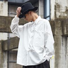 原创 日系 山本风格 男宽版衬衫 Y031P85
