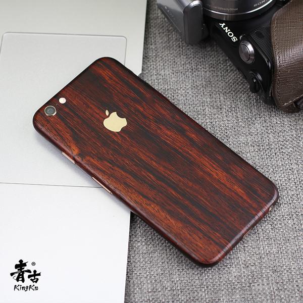 iPhone6s背膜dbrand苹果7p彩膜iPhone8保护膜苹果X木纹贴纸贴膜