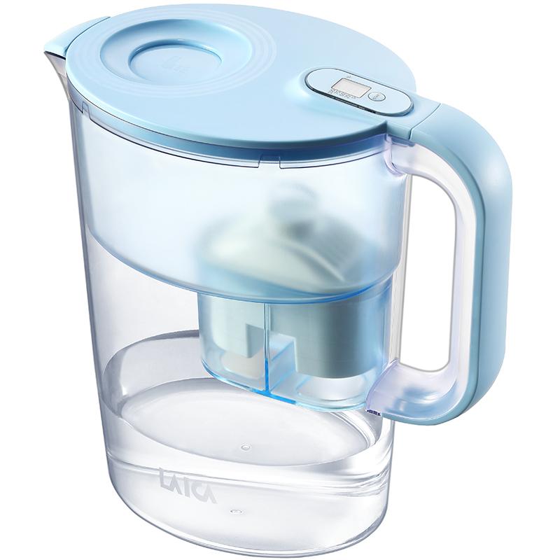 Laica莱卡滤水壶3.5L家用进口滤芯除水垢去余氯净化自来水过滤器