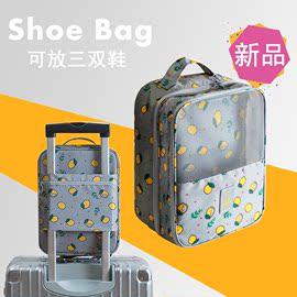 旅行鞋包套拉杆箱装鞋子出差收纳神器包袋防水手提大容量鞋盒便携