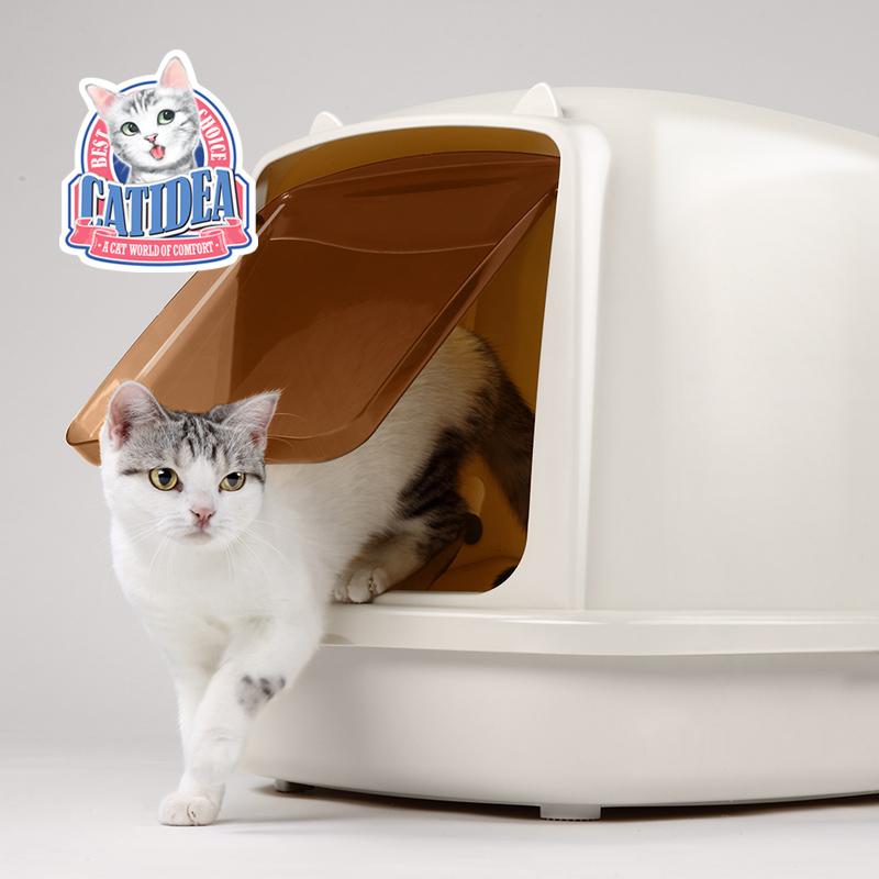 猫乐适猫砂盆大号全封闭式猫厕所除臭猫沙盆双层猫屎盆子猫咪用品