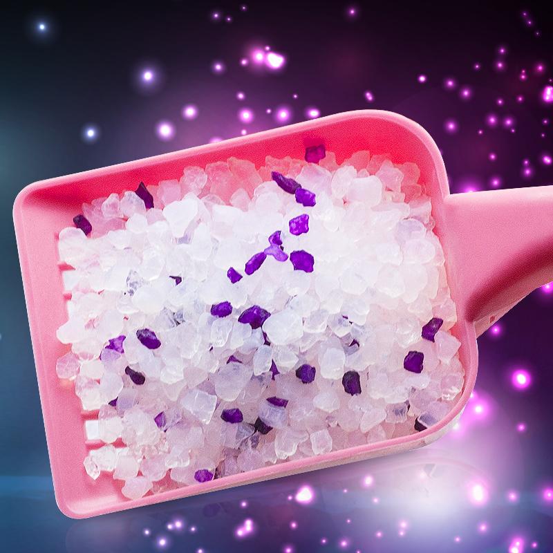 水晶貓砂包郵 無粉塵除臭大顆粒貓砂大袋3.8L吸水抑菌薰衣草花香