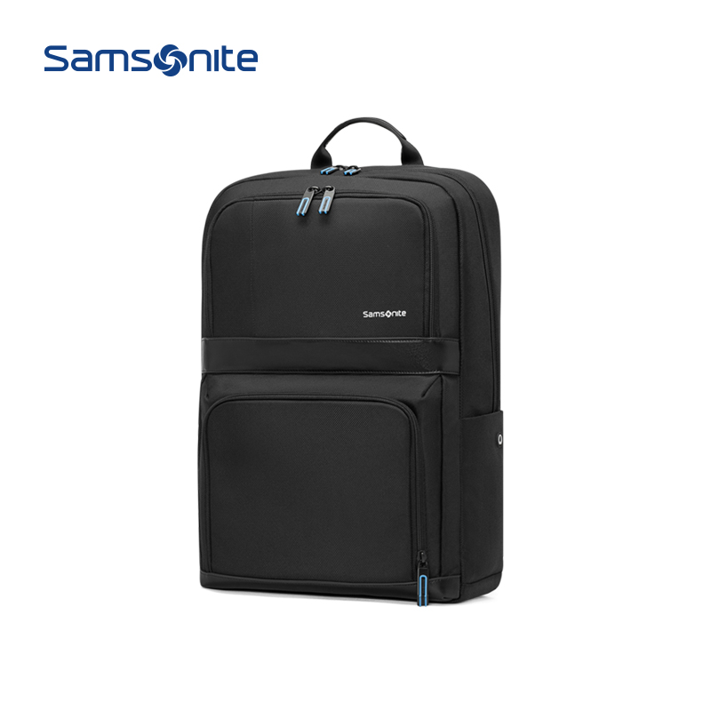 Samsonite / new beautiful new backpack business travel backpack fashion men's bag 14 inch computer bag 36b13