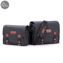 Camera bag SLR Canon Waterproof Photography Pack Canvas single shoulder nikon SLR female male Sony portable Micro single Bag