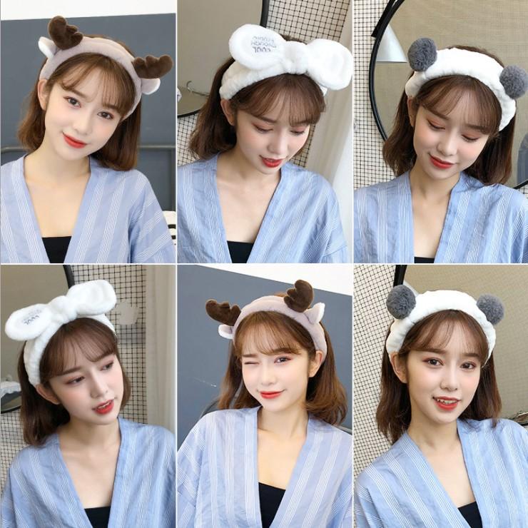 11月10日最新优惠甜美韩国可爱森女系头套洗脸女发箍