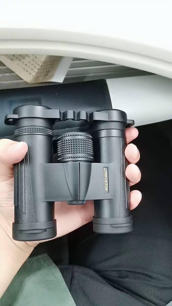 pleasing悦目8x25双筒便携 登山 旅游 演唱会 单筒 球比赛望远镜