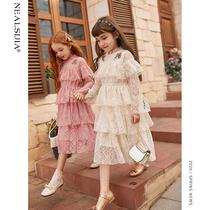 女童连衣裙2020新款春秋装洋气春款儿童装中大童公主裙小女孩裙子